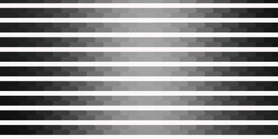 textura de vetor cinza claro com linhas.