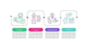 asd provoca modelo de infográfico de vetor