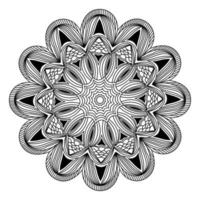 mandala de elegância decorativa para design de fundo de convite vetor