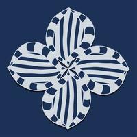 ornamentos elementos de design de mandala vetor