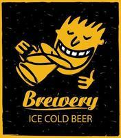 figuras humanas, bebendo cerveja vetor
