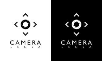 conceito de design gráfico do fotógrafo do ícone do obturador da câmera, conjunto de vetor de logotipo. ferramentas de coleção gráfica do moderno moderno. ícone de foto