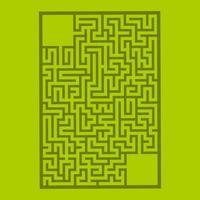 labirinto para crianças. quebra-cabeça para crianças. enigma do labirinto. vetor