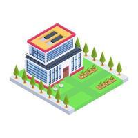 construção de casa e residência vetor