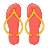flip-flops fourpiece vetor