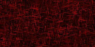 textura vector laranja escuro com linhas coloridas.