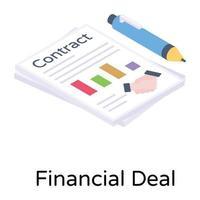 acordo financeiro e acordo vetor