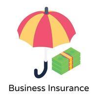 seguro empresarial e indenização vetor