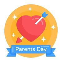 banner do dia dos pais vetor