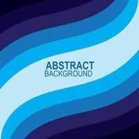 onda azul vetor abstrato fundo design plano ilustração estoque