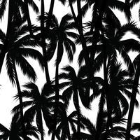 Impressão de verão tropical com palm. vetor