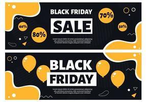 folheto de venda da sexta-feira negra vetor