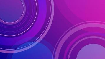 fundo moderno azul rosa fundo geométrico mínimo dinâmico vetor