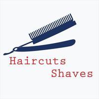 vetor de ícone de barbearia