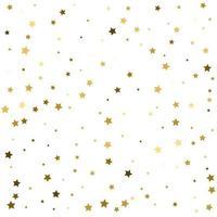 estrelas douradas estrelas douradas padrão festivo vetor