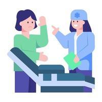 lesão no braço e tratamento vetor