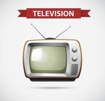 Design de ícone para televisão vetor