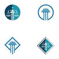 pilares logo ícone desenhos vetoriais vetor