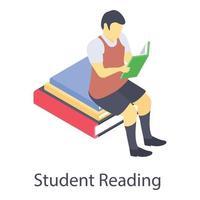 conceitos de leitura do aluno vetor