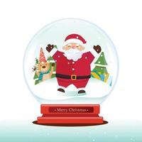 vetor globo de natal, decoração de natal