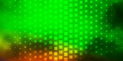 luz verde, vermelho vetor padrão em estilo quadrado.