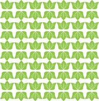 design de padrão de folha verde abstrato vetor