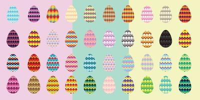 conceito de ovo de Páscoa. celebração ou festival vetor