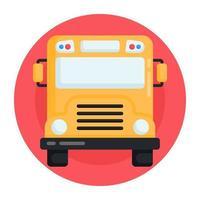 ônibus e transporte local vetor