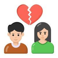 separação e divórcio vetor