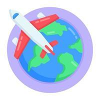 viagem e geolocalização vetor
