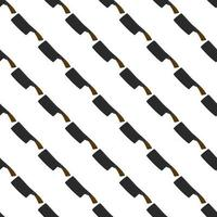 ilustração em machados de aço de padrão temático com cabo de madeira vetor