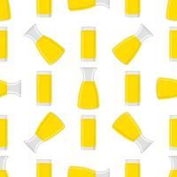 ilustração sobre o tema limonada colorida em jarra de vidro vetor