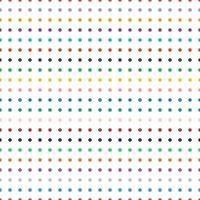 padrão de fundo de bolinhas coloridas retrô sem costura vetor