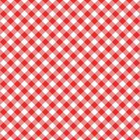 padrão sem emenda de guingão diagonal. fundo de quadrados vermelhos e brancos vetor