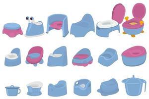 ilustração em potes de plástico para bebês com alça confortável vetor