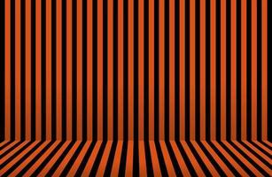 listra abstrata. desenho de parede de halloween. quarto listrado em laranja vetor