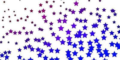 fundo vector azul escuro, vermelho com estrelas coloridas.