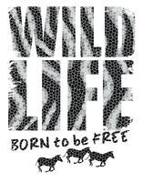 Ilustração vetorial com o slogan para camisetas vetor