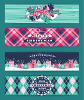 Natal e ano novo conjunto. Origens da manta.
