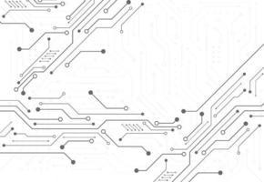 fundo digital abstrato com placa de circuito de tecnologia vetor