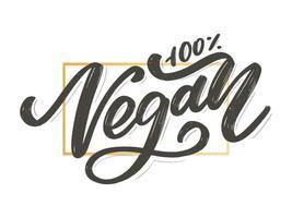 ilustração vetorial, design de alimentos. vegano vetor