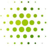 fundo verde claro do vetor com bolhas.
