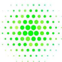 fundo de vetor verde claro com pontos.