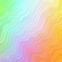 luz de fundo multicolor vector com linhas irônicas.