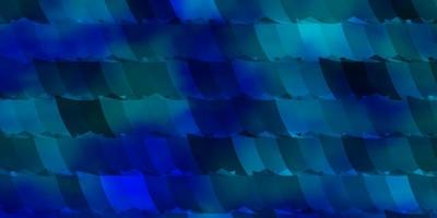 layout de vetor azul claro com formas hexagonais.