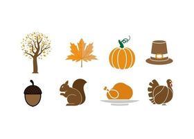 outono outono clipart ícone design vetor