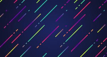 Fundo de listras coloridas, ilustração vetorial
