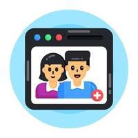 adicionar amigos e usuário vetor
