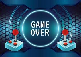jogo abstrato zona de jogo vetor de fundo de ícone de jogo