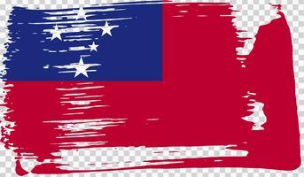 Bandeira realista, ilustração vetorial